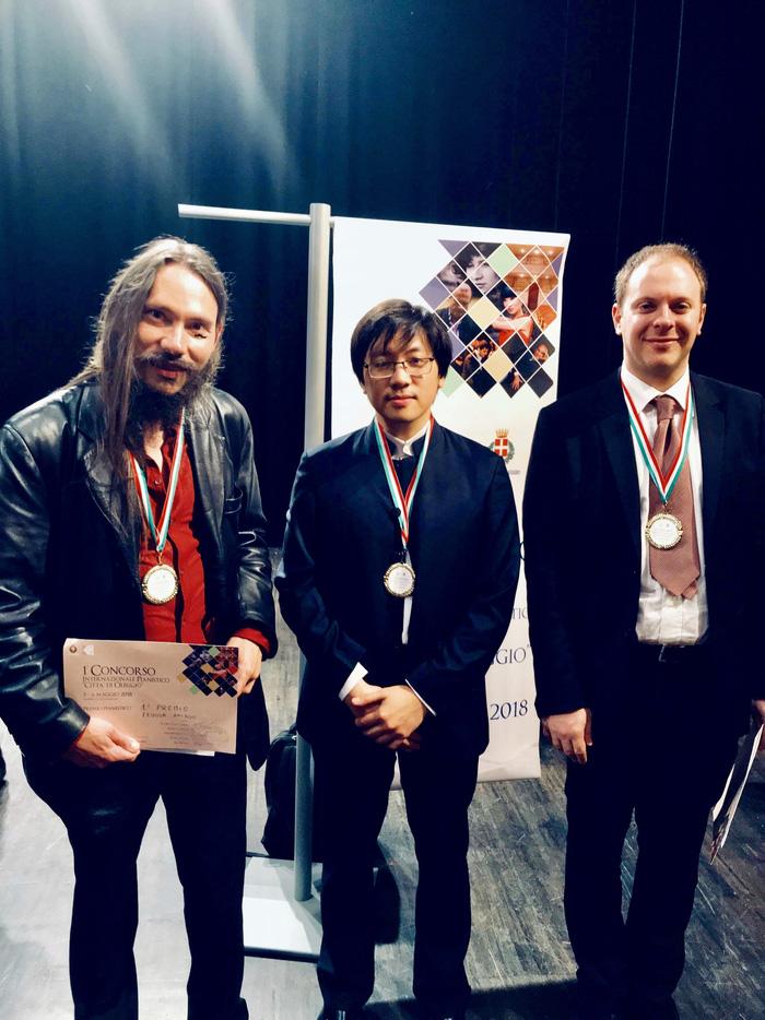 Lưu Hồng Quang đoạt giải nhì tại cuộc thi Piano quốc tế - Ảnh 3.