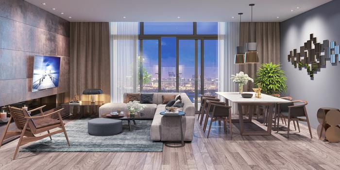 Xu hướng nội thất thượng lưu trong căn hộ ở Hà Nội  - Ảnh 3.