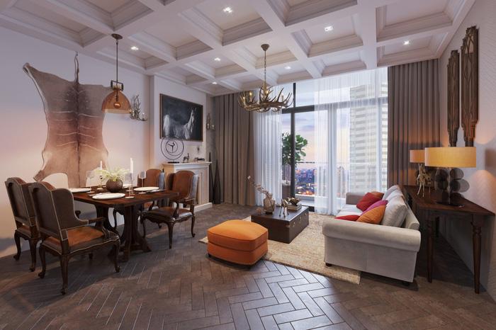 Xu hướng nội thất thượng lưu trong căn hộ ở Hà Nội  - Ảnh 5.