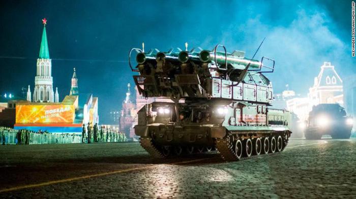 Hệ thống tên lửa phòng không BUK-M2
