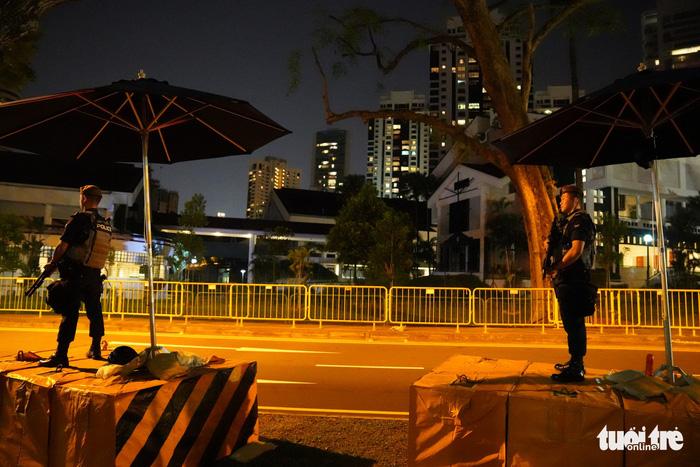 Thượng đỉnh Kim - Trump ở Singapore: an ninh đi kèm văn minh - Ảnh 2.