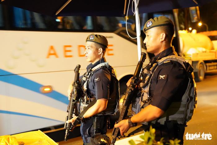 Thượng đỉnh Kim - Trump ở Singapore: an ninh đi kèm văn minh - Ảnh 4.