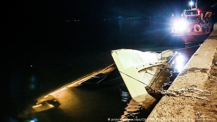 Tàu đâm sà lan trên sông Volga, 11 người thiệt mạng - Ảnh 2.