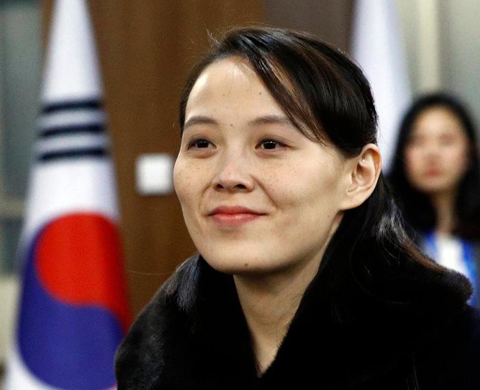 Ông Kim Jong Un đưa đến 4 phụ nữ cùng dự hội đàm thượng đỉnh - Ảnh 1.