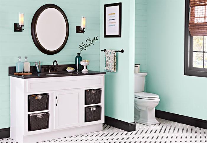 Biến phòng tắm thành nơi xả stress sau một ngày nắng nóng - Ảnh 1.
