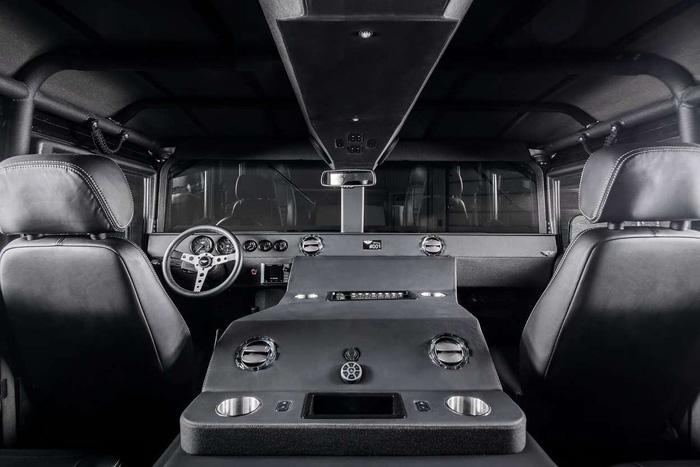 Xuất hiện bản độ đắt tiền của Hummer - Launch Edition H1 - Ảnh 3.