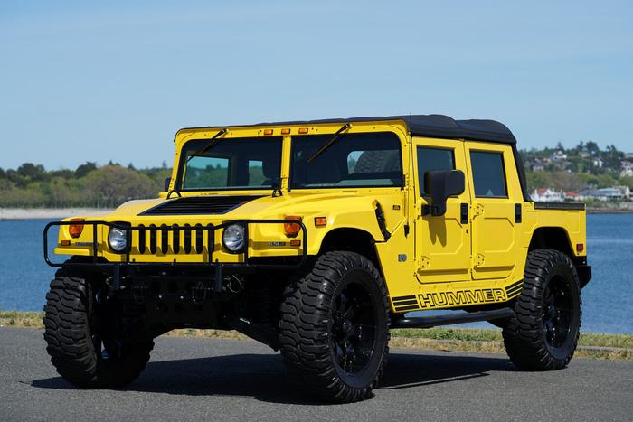 Xuất hiện bản độ đắt tiền của Hummer - Launch Edition H1 - Ảnh 6.