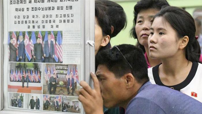 Truyền thông nhà nước Triều Tiên hết lời ca ngợi hội đàm Mỹ - Triều - Ảnh 1.