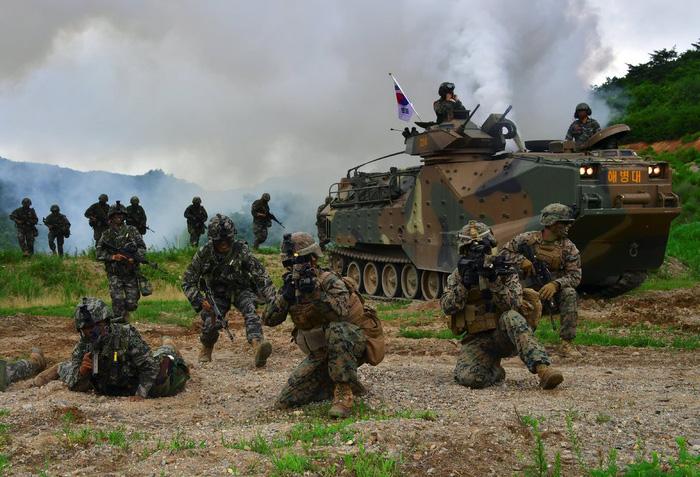 Trung Quốc đã biết trước chuyện ngừng tập trận Mỹ - Hàn - Ảnh 1.