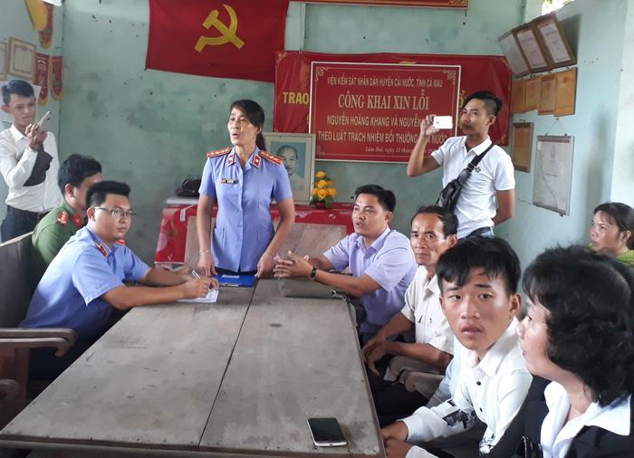 Viện Kiểm sát huyện Cái Nước xin lỗi dân vì truy tố oan - Ảnh 1.