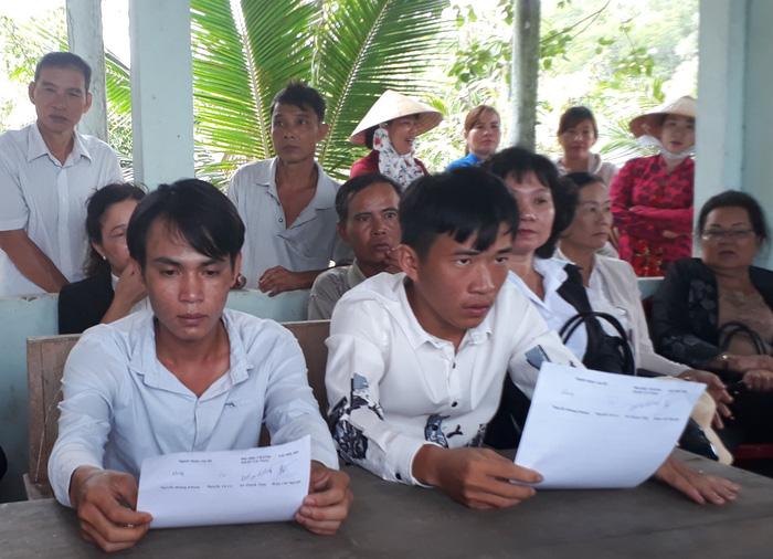 Viện Kiểm sát huyện Cái Nước xin lỗi dân vì truy tố oan - Ảnh 2.