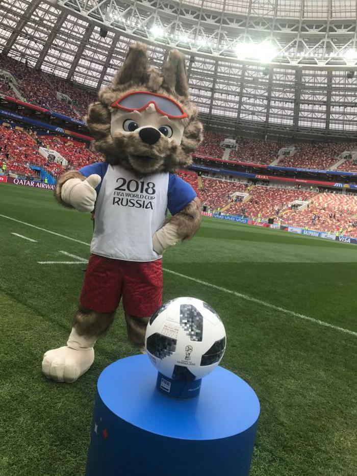 Lễ khai mạc World Cup 2018 đầy màu sắc - Ảnh 2.