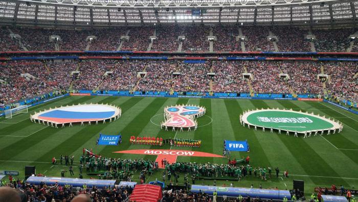 Lễ khai mạc World Cup 2018 đầy màu sắc - Ảnh 8.