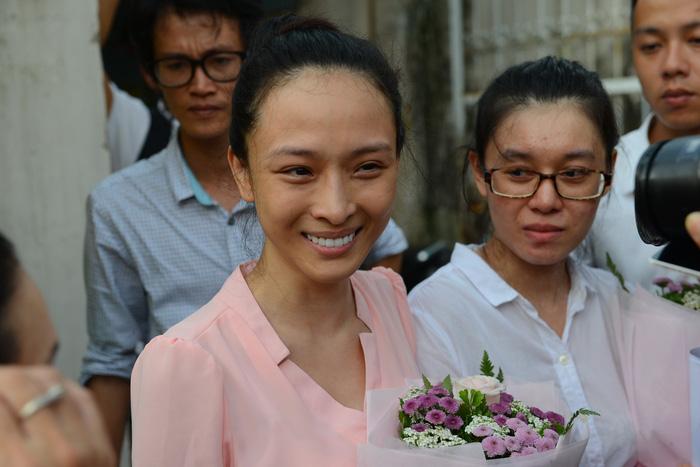 Hoa hậu Phương Nga từ chối 3 luật sư ở phiên sơ thẩm - Ảnh 1.
