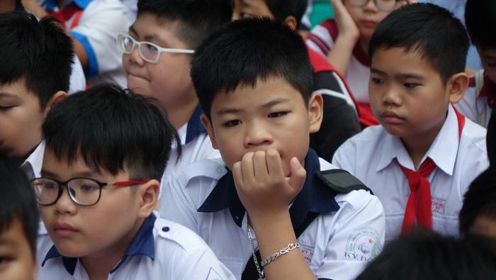 Hơn 4.000 học sinh thi vào lớp 6 Trường Trần Đại Nghĩa - Ảnh 10.