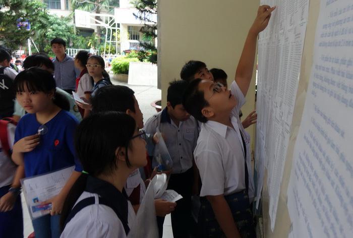Hơn 4.000 học sinh thi vào lớp 6 Trường Trần Đại Nghĩa - Ảnh 9.