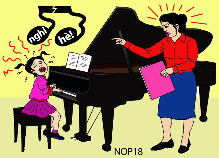 Con ước gì không có môn piano trên đời - Ảnh 1.