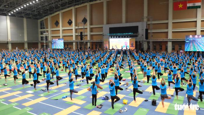 Ngày càng nhiều người Việt tìm sự bình an trong yoga - Ảnh 1.