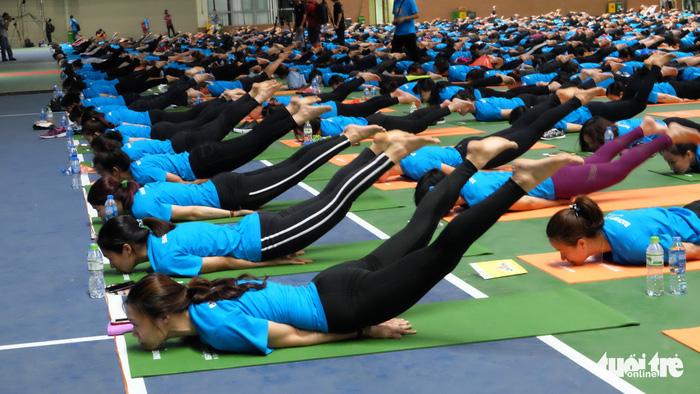 Ngày càng nhiều người Việt tìm sự bình an trong yoga - Ảnh 2.