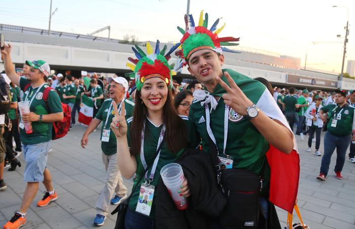 Cầu thủ Mexico ghi bàn, các bóng hồng Mexico ghi điểm - Ảnh 2.