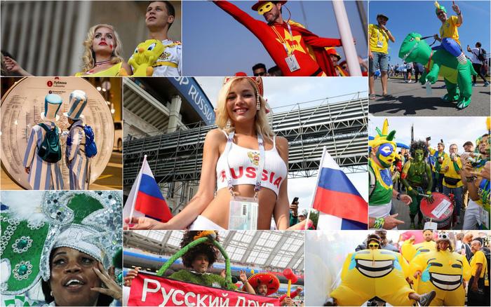 World Cup 2018: Cổ động viên chịu chơi hoành tráng - Ảnh 1.