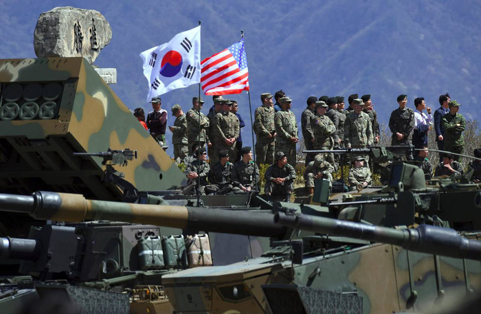 Mỹ - Hàn chính thức tuyên bố dừng tập trận chung - Ảnh 1.