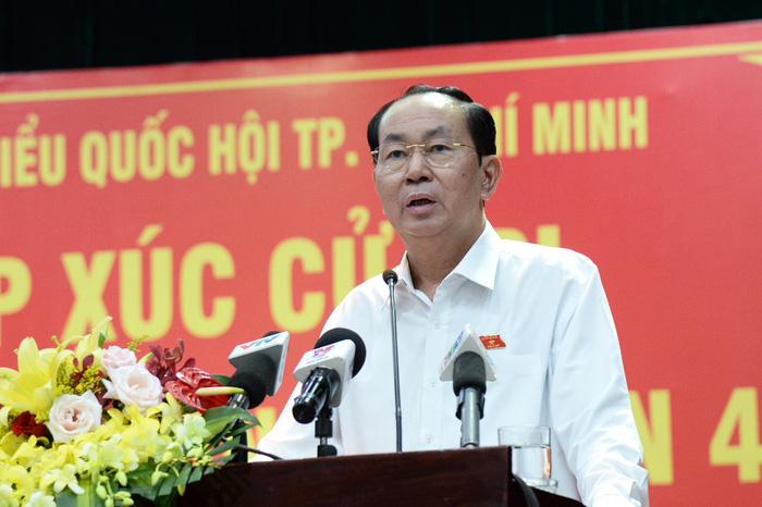 Chủ tịch nước: Vụ việc tại Bình Thuận, TP.HCM là do bị kích động - Ảnh 5.
