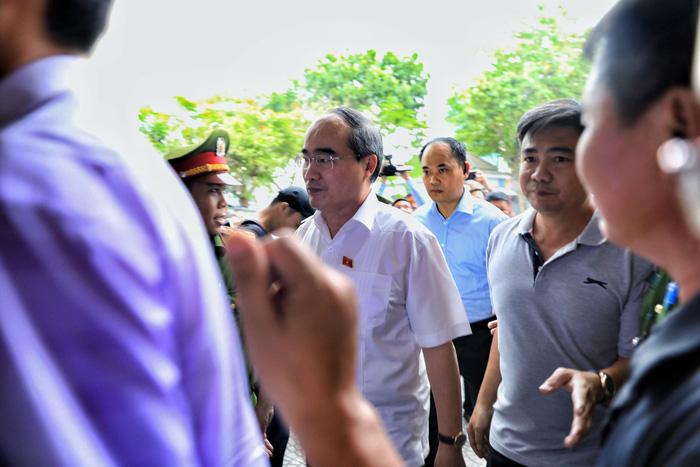 Hàng trăm cử tri Thủ Thiêm dự tiếp xúc với Bí thư Nguyễn Thiện Nhân - Ảnh 2.