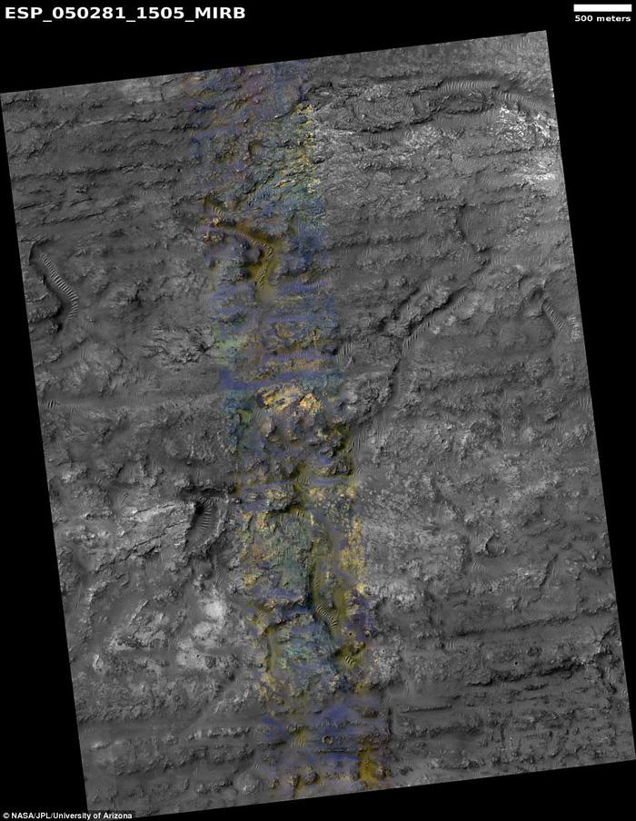 Đụn cát màu xanh bí ẩn trên Sao Hỏa - Ảnh 4.