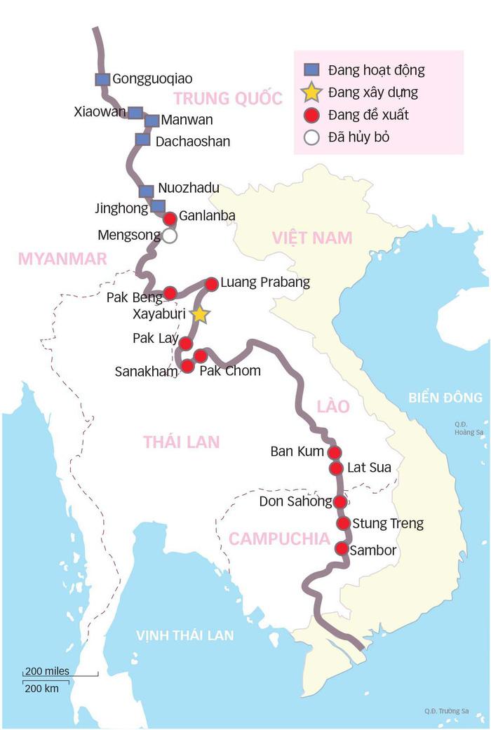 Lào giao nhà thầu Trung Quốc xây thêm thủy điện, dân Mekong lo ngại - Ảnh 1.