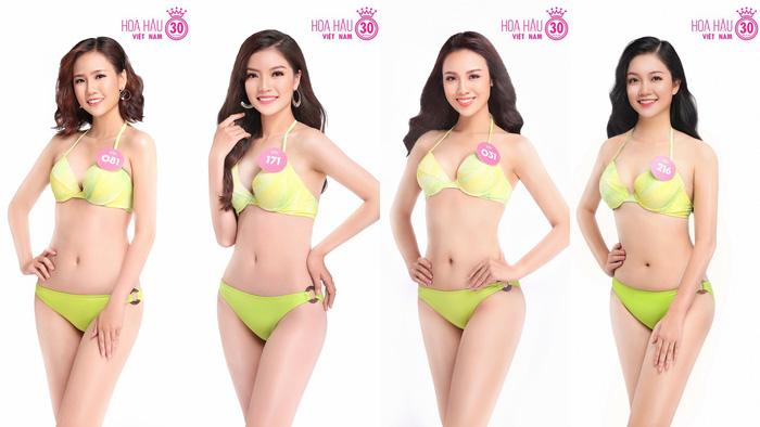 Ngắm trọn bộ ảnh bikini top 30 Hoa hậu Việt Nam 2018 - Ảnh 1.
