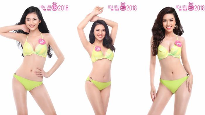 Ngắm trọn bộ ảnh bikini top 30 Hoa hậu Việt Nam 2018 - Ảnh 2.