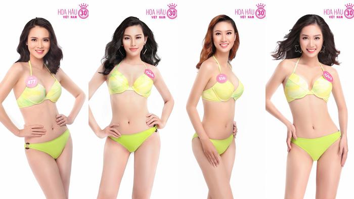 Ngắm trọn bộ ảnh bikini top 30 Hoa hậu Việt Nam 2018 - Ảnh 6.