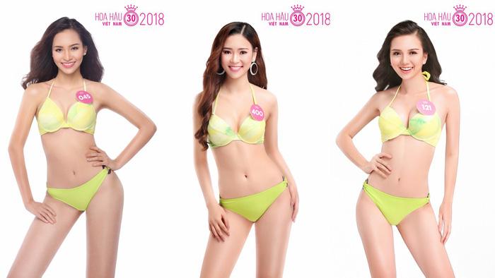 Ngắm trọn bộ ảnh bikini top 30 Hoa hậu Việt Nam 2018 - Ảnh 8.
