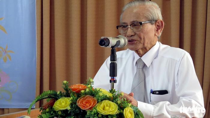 Cố giáo sư Phan Huy Lê, bậc thầy đổi mới nghiên cứu lịch sử - Ảnh 1.