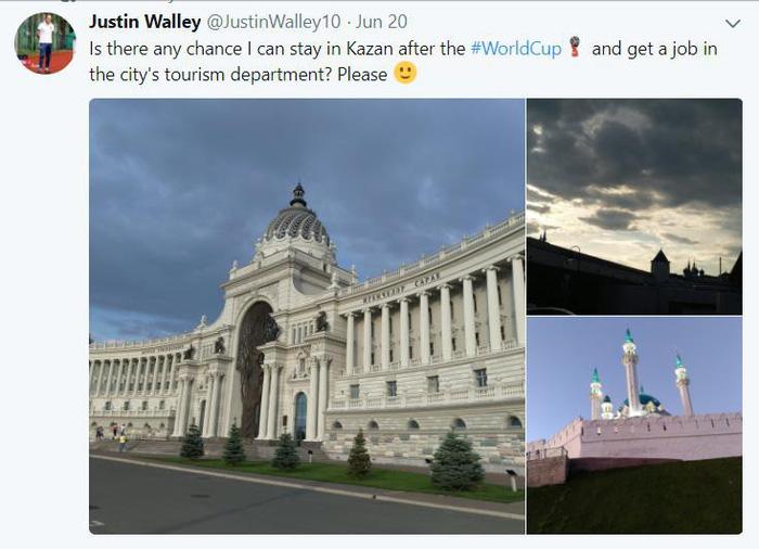 Nói đùa tìm việc trên mạng xã hội, fan World Cup cầu được ước thấy - Ảnh 2.