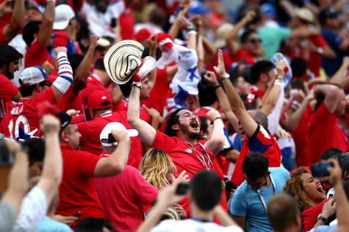 Văn hóa của cổ động viên Panama xứng đáng được khen ở World Cup - Ảnh 2.