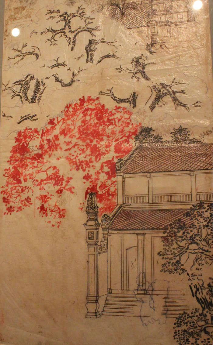 Ngắm những phác thảo lỡ hẹn 10 năm của họa sĩ Nguyễn Gia Trí - Ảnh 6.