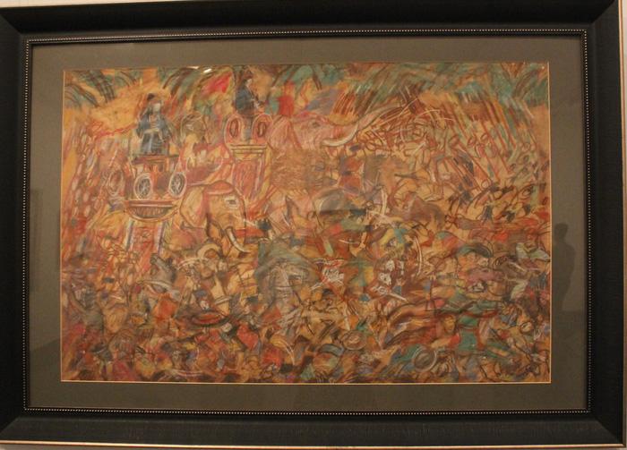 Ngắm những phác thảo lỡ hẹn 10 năm của họa sĩ Nguyễn Gia Trí - Ảnh 8.