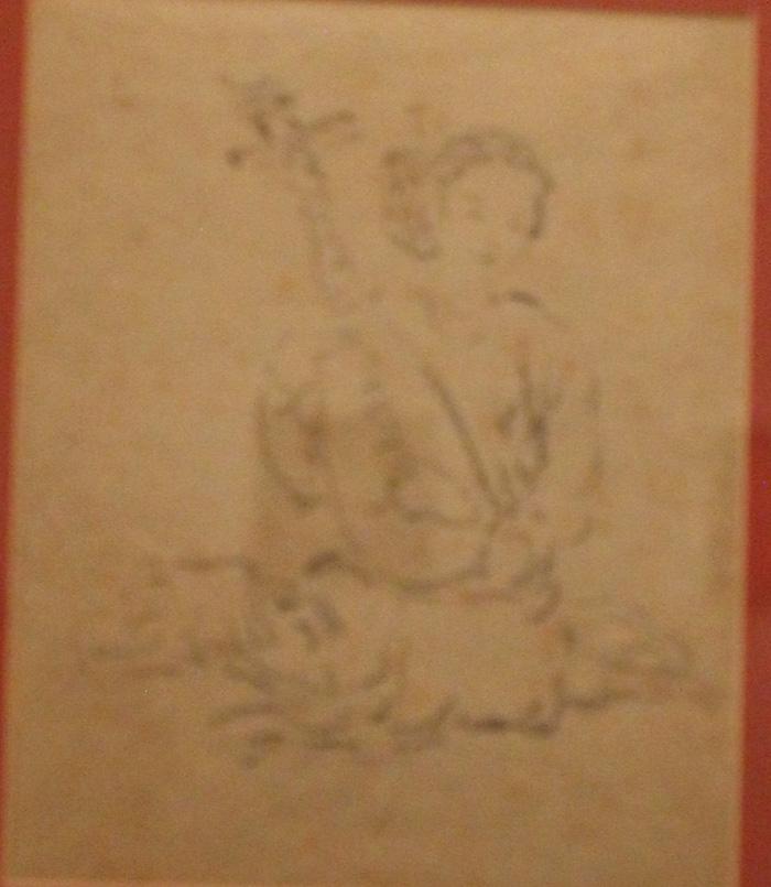 Ngắm những phác thảo lỡ hẹn 10 năm của họa sĩ Nguyễn Gia Trí - Ảnh 9.