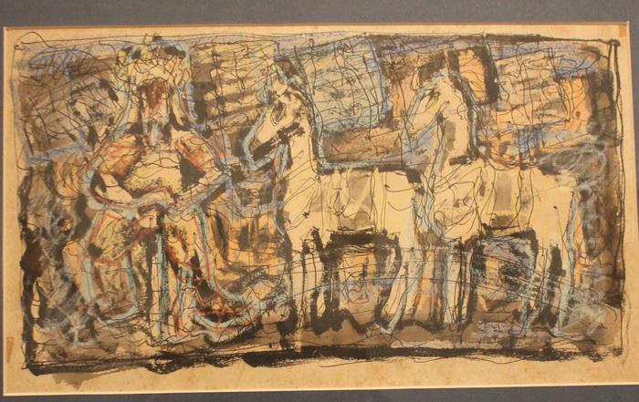 Ngắm những phác thảo lỡ hẹn 10 năm của họa sĩ Nguyễn Gia Trí - Ảnh 1.