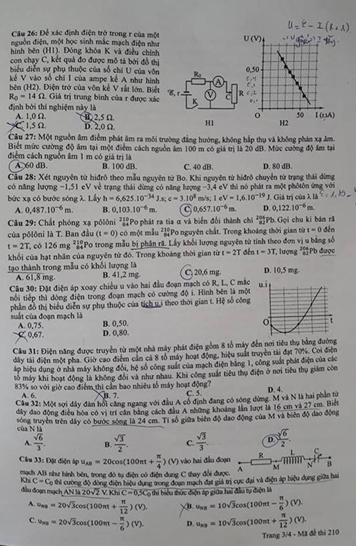 Xem đề vật lý THPT quốc gia: hỏi nhiều về điện, có kiến thức lớp 11 - Ảnh 3.