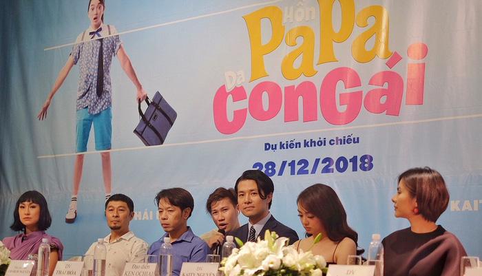 Kaity Nguyễn hoán đổi thành Thái Hòa trong Hồn papa da con gái - Ảnh 1.