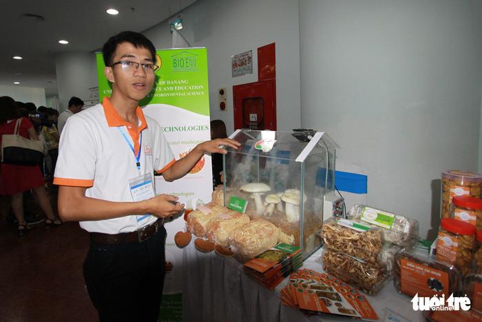 Thực phẩm sạch, camera toàn cảnh... tại triển lãm khởi nghiệp Đà Nẵng - Ảnh 3.