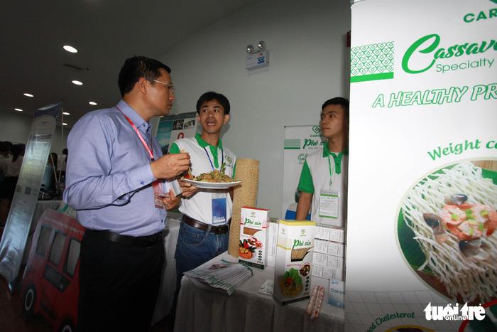Thực phẩm sạch, camera toàn cảnh... tại triển lãm khởi nghiệp Đà Nẵng - Ảnh 6.