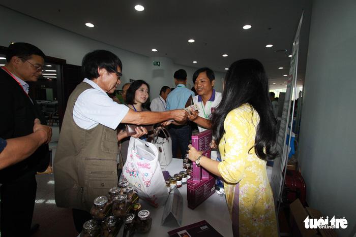Thực phẩm sạch, camera toàn cảnh... tại triển lãm khởi nghiệp Đà Nẵng - Ảnh 7.