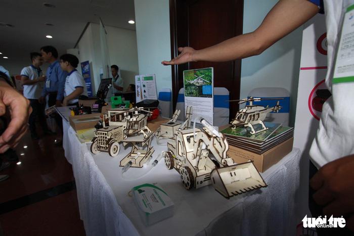 Thực phẩm sạch, camera toàn cảnh... tại triển lãm khởi nghiệp Đà Nẵng - Ảnh 5.