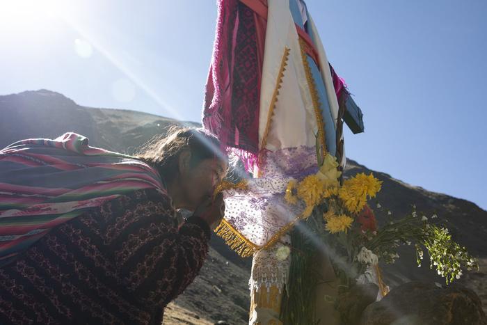 Rực rỡ sắc màu tại lễ hội tuyết và sao ở Peru - Ảnh 4.