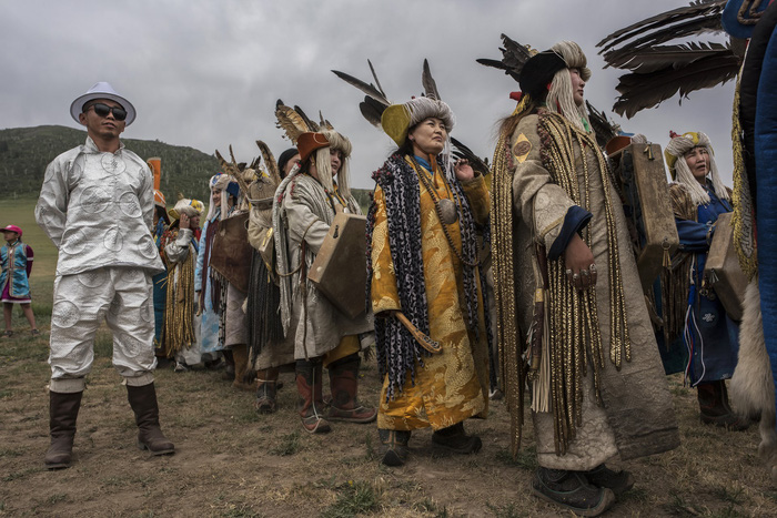 Đến Mông Cổ xem nghi thức pháp sư đón mùa hè - Ảnh 8.