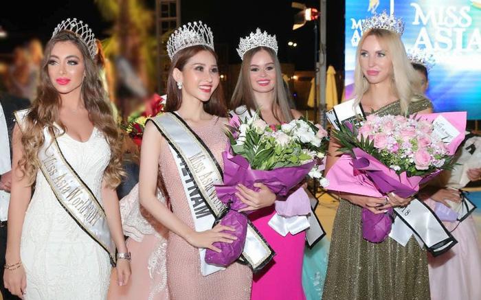 Chi Nguyễn đăng quang Hoa hậu châu Á Thế giới 2018 - Ảnh 1.